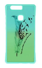 Capa traseira Estampa Árvore TPU Macio Case Capa Para Huawei Huawei P9 / Huawei P9 Lite / Huawei P9 Plus