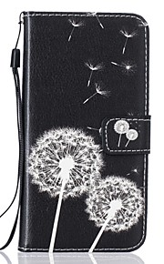 Dandelion PU Leather Wallet for Huawei P8Lite P9 P9Lite