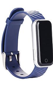 HFQ Bluetooth Smart armbandVattenavvisande / Lång standby / Stegräknare / Sport / Hjärtfrekvensmonitor / Touch Screen / Alarmklocka /