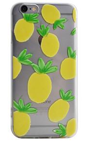 Coque Transparents / Motif Fruit TPU Doux Couverture de cas pour Apple iPhone 6s Plus/6 Plus / iPhone 6s/6 / iPhone SE/5s/5