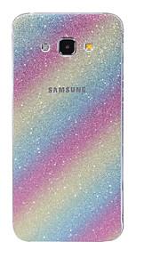 PET Glitterato / Ultra sottile / Satinato Decalcomanie Anti-graffi / Anti-impronteScreen Protector ForSamsungGalaxy A9(2016) / Galaxy
