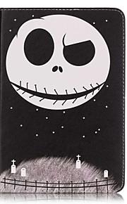 Ganzkörper Brieftasche / Kartenhalter Totenkopf PU - Leder Hart Fall-Abdeckung für Apple iPad Mini 4 / iPad Mini 3/2/1