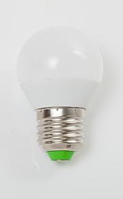 7W E14 / E26/E27 LED-globepærer G45 9 SMD 2835 700 lm Varm hvit / Kjølig hvit Dekorativ AC 220-240 V 1 stk.