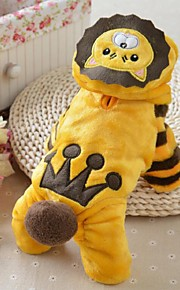 Lovely Keep Warm Lion Style Pet Coat