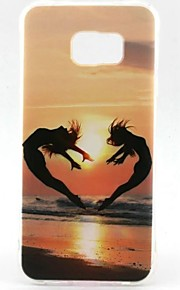 EFORCASE Painted Sunset TPU Phone Case for Samsung Galaxy S7 edge S7 S6
