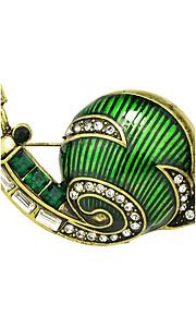 nye søde stil emalje snegl form brocher for kvinder