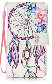 Ganzkörper Brieftasche / Kartenhalter / Flip / Muster Traumfänger PU - Leder Hart Fall-Abdeckung für Huawei Huawei P9 Lite