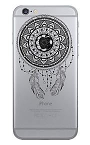 Skal Mönster Drömfångare TPU Mjuk Fallet täcker för Apple iPhone 7 Plus / iPhone 7 / iPhone 6s Plus/6 Plus / iPhone 6s/6