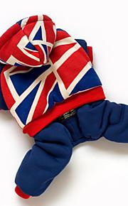 Perros Mono Azul Ropa para Perro Invierno Bandera Nacional Adorable / Mantiene abrigado / Paravientos: /