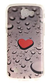 Per retro IMD / A fantasia Heart TPU Morbido Copertura di caso per LG LG K10 / LG K8 / LG K7 / LG K4