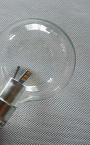 6 E26/E27 LED-globepærer G80 6 SMD 3528 800 lm Varm hvit / Kjølig hvit Dekorativ AC 220-240 V 1 stk.