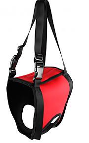 Dog Harness Waterproof / Reflective / Adjustable/Retractable Red / Green / Orange Oxford cloth