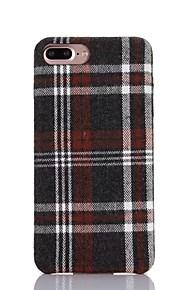 Skal Ultratunn geometriska mönster PU-läder Mjuk Fallet täcker för Apple iPhone 7 Plus / iPhone 7 / iPhone 6s Plus/6 Plus / iPhone 6s/6