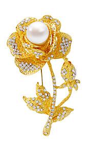 / brocher / fashionable / sølv / gyldne / personlighed / kvinder