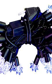 1pc 5m 40led lumière de chaîne pour le mariage de fête de Noël a mené l'éclairage de Noël