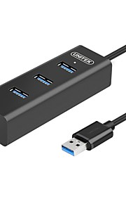 UNITEK Portable USB 3.0 4-Port High Speed Hub with BC 1.2 Charging with 5V 1.2A for PC