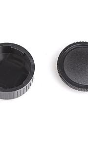 dengpin bageste objektivdæksel + kamerahuset hætte til Leica m2 m3 m4 m6 m8 m9