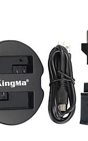 Kingma dupla usb carregador para a bateria Canon e Canon EOS 550D EOS 600D EOS 650D EOS 700D com poder usb adaptador de tomada