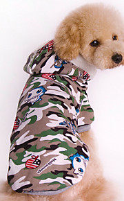 Pet Dog Loveliness  Relaxation  Cotton  Thicken Camouflage Hoodie  Sweater