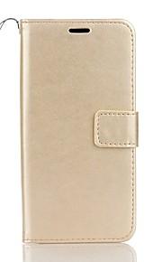 Full Body Wallet / Korttipaikka / telineellä Yhtenäinen väri Tekonahka Kova Tapauksessa kattaa Samsung Galaxy Note 7