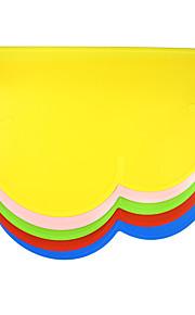 Кошка / Dog Миски и бутылки с водой Силикон Водонепроницаемость / Компактность Красный / Зеленый / Голубой / Розовый / Желтый