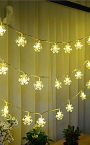 100-водить 10m снег свет водонепроницаемый пробка открытый свет украшения рождества праздник вел свет шнура