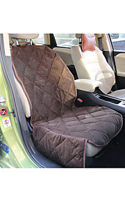Pet Product Supplies Quilted Soft Short Plush Car Rear Seat Cover Waterproof  Washable Dog Mat