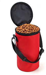 Cat / Dog Bowls & Water Bottles / Feeders Oxford Waterproof Red / Black / Brown / Gray