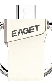EAGET V80-32G 16Go USB 3.0 Résistant à l'eau / Crypté / Anti-Choc / Taille Compacte / Compatible OTG (Micro USB)