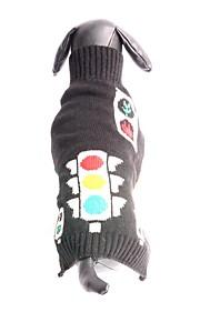 Koty / Psy Płaszcze / Swetry / Stroje Black Ubrania dla psów Zima / Lato / Wiosna/jesień GroszkiUrocze / Codzienne / Sportowy / Urodziny
