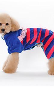 Psy Kombinezon / Piżama Pomarańczowy / Niebieski / Różowy Ubrania dla psów Zima / Wiosna/jesień Wzór zwierzęcyCosplay / Zatrzymujący