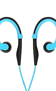 gancho in-ear com fio antichoque esportes fone de ouvido estéreo r100 sweatproof correndo fones de ouvido com microfone