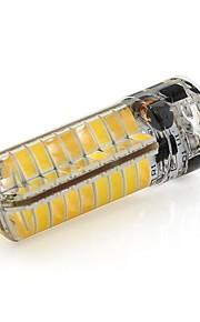 6W g6.35 LED-lamper med G-sokkel T 72 SMD 2835 460 lm Varm hvit / Kjølig hvit Dekorativ V 1 stk.