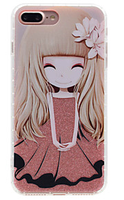 For Etui iPhone 7 / Etui iPhone 7 Plus / Etui iPhone 6 Gjennomsiktig / Mønster Etui Bakdeksel Etui Tegneserie Hard Akryl AppleiPhone 7