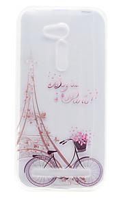 Para Transparente / Diseños Funda Cubierta Trasera Funda Torre Eiffel Suave TPU Asus Asus ZenFone GO ZB452KG / Asus ZenFone GO ZB551KL