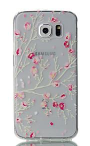 ל אולטרה דק / שקוף / תבנית מגן כיסוי אחורי מגן פרח רך TPU Samsung S7 edge / S7 / S6 edge / S6 / S5