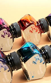 Color ink dye no blocking by the pen