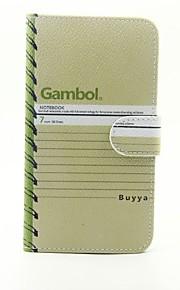 Для Кошелек / Бумажник для карт / со стендом Кейс для Чехол Кейс для Слова / выражения Твердый Искусственная кожа LG LG G5