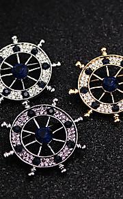mode vintage diamant ror broche
