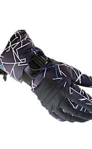 Full Finger / Rękawiczki zimowe Damskie / Męskie Keep Warm / Wodoodporny / Polarowa podszewka Narciarstwo / Snowboard XL / S / M / L