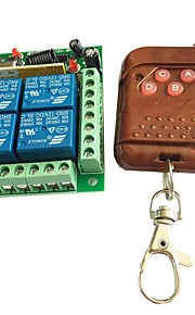 RF 4-Channel Wireless Remote Controller Switch Module