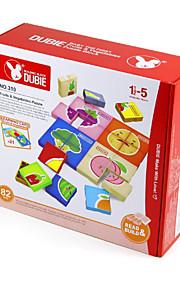 Puslespil For Gift Byggeklodser Firkantet Plastik Over 3 Regnbue Legetøj