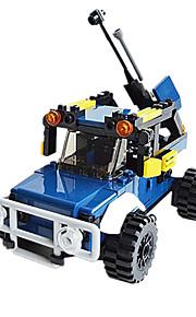 Bonecos & Pelúcias / Blocos de Construir para presente Blocos de Construir Modelo e Blocos de Construção Tanque / Guerreiro / Robô ABS5 a