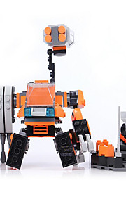 Bonecos & Pelúcias / Blocos de Construir para presente Blocos de Construir Modelo e Blocos de Construção Guerreiro / Máquina / Robô ABS5