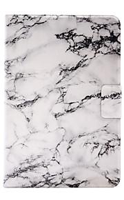 För Korthållare / Origami fodral Skal fodral Marmor Hårt PU-läder för Apple iPad Mini 4 / iPad Mini 3/2/1