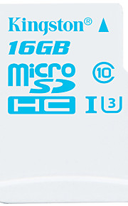 Kingston 16GB Micro SD Card TF Card geheugenkaart UHS-I U3 Class10 Action Camera