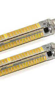 5W BA15d Tubelys Tube 136 SMD 5730 500 lm Varm hvit / Kjølig hvit V 2 stk.