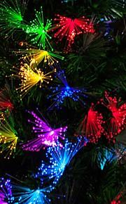 10m blå / hvit / regnbuens farger 100-ledede jul fairy streng lys (100-220v)