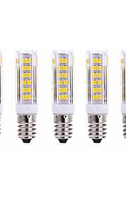 7W E14 LED-kornpærer T 75 SMD 2835 1000lm lm Varm hvit / Kjølig hvit Dekorativ AC 220-240 V 5 stk.