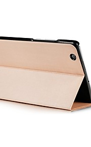 Two Fold Pattern Solid Color PU Leather Case with Sleep for 8.4 Inch Huawei Media Pad M3